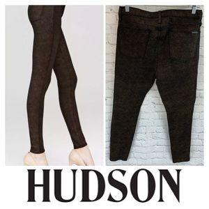 Hudson High Waisted Barbara Skinny Jeans
